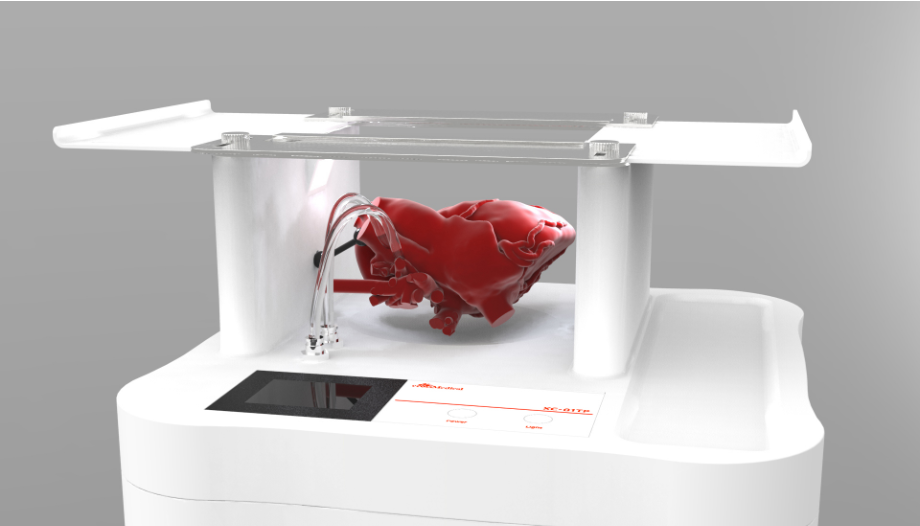 医療用3D臓器シミュレーター